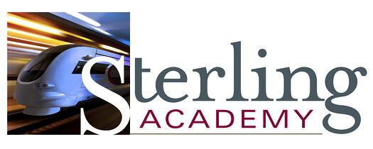 Sterling Academy Logo   German