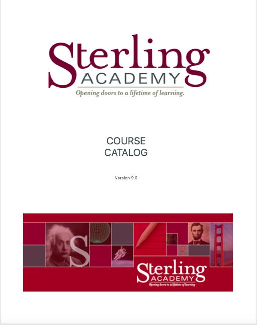 Course Catalog version 9 image