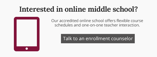 Interested in online middle school?
